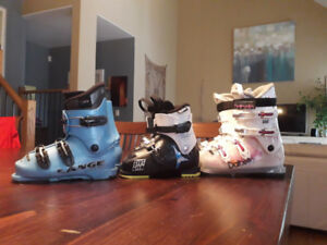 Girls ski boots new & used
