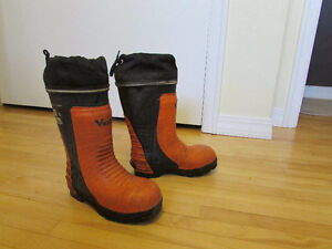 Forestry Chainsaw Safety Boots - Women's