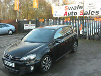 2012 VOLKSWAGEN GOLF GTD 2.0TDI ONLY 56,249 MILES FULL SERVICE HISTORY