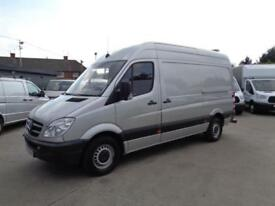 MERCEDES-BENZ SPRINTER 2.1TD | 313 CDi | MWB | 1 OWNER | SILVER | 2013 MODEL