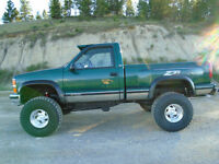 1996 CHEVY SHORT BOX STEP SIDE 4X4