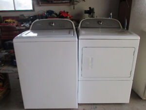 Washer and Dryer set Whirlpool