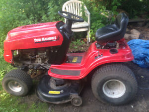 "yard machine 16 hp 42"" cut great condition"