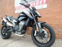 Stunning KTM 790 Duke Naked Motorcycle Black