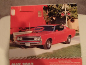 New 2002 GEAT AMERICAN CARS 12 Month CALENDAR. Issued by AKZO NO Sarnia Sarnia Area image 6