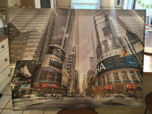 Large canvas picture of nyc