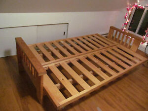 excellent quality convertible futon frame 400 OBO