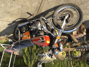 Motorcycle collection Honda CB 360