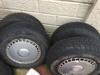 Set of 4 aurora R810 tyres