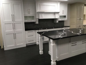 Popular and Fancy!! Step Shaker White kitchen on SALE!!