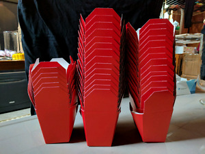 """Paper """"takeout"""" containers x 30"""