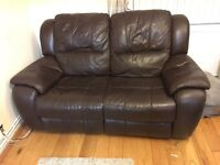 Two Seater and One Seater Sofas