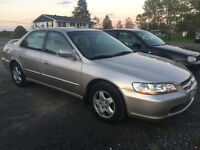 1999 HONDA ACCORD EXL LEATHER LOADED SHOWROOM 3250$@902-293-6969