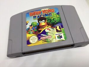 Nintendo 64 -- N64 -- Diddy Kong Racing