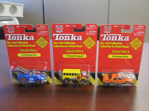 Tonka 60th Anniversary Scale Models X 3 - Mint Condition