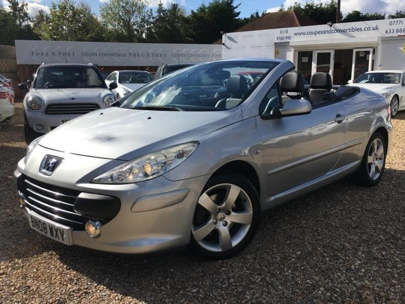 2008 peugeot 307 cc 2 0 hdi sport 2dr in wokingham berkshire gumtree. Black Bedroom Furniture Sets. Home Design Ideas