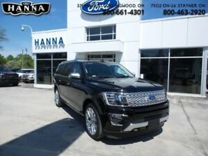 2018 Ford Expedition Platinum Max  *600A*