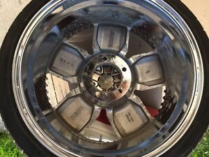 "Lexani Arnage 20"" Rims And Tires Regina Regina Area image 2"