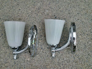 Chrome Wall Light Kitchener / Waterloo Kitchener Area image 2