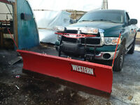 Western HTS 7.6 Snow Plow Complete