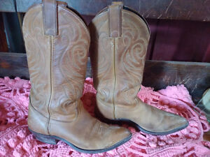 WOMENS LEATHER COWBOY BOOTS BY CODE WEST