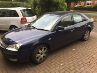 2003 Ford Mondeo Ghia X for Sale! 1 Year MOT