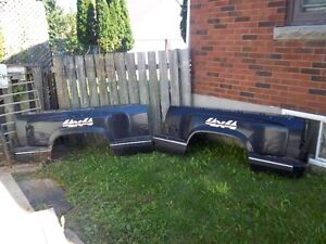 1988/1998gmc/chevy fullsize stepside 6 foot fibreglass boxsides