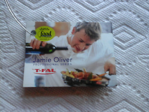 """JAMIE OLIVER T-FAL 8.5"""" STAINLESS STEEL SAUTE/FRY  PAN/SKILLET"""