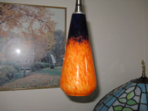 CERAMIC  PENDANT  LAMP  and  WALL  LAMP,  A-1!  416-483-1730