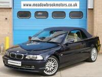 BMW 330CI CONVERTIBLE AUTOMATIC, IMMACULATE BODY WORK, 3 FORMER KEEPER