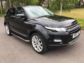 2011 61 LAND ROVER RANGE ROVER EVOQUE 2.2 SD4 PURE 5D AUTO 190 BHP PAN ROOF DIE