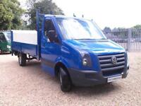 Volkswagen Crafter Cr35 LWB 14ft Dropside Tail Lift