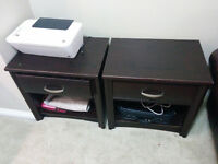 2 Leon's Night Tables (Moving Sale)      Watch     |     Share