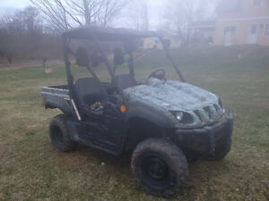 Yamaha rhino - camo package 2007