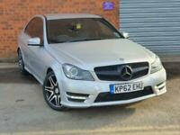 2012 Mercedes-Benz C Class C220 CDI BLUEEFFICIENCY AMG SPORT PLUS Auto Saloon Di