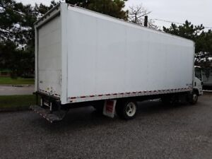 2017 ISUZU NRR  24 foot box cabover for sale