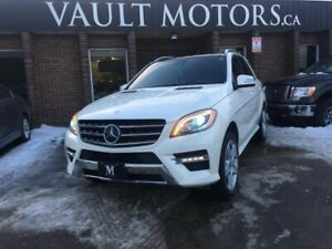 2013 Mercedes Benz M-Class 4MATIC 4dr ML350 BlueTEC