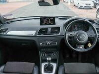 2016 Audi Q3 Audi Q3 2.0 TDi 184 Quattro S Line Plus 5dr 4WD 19in Alloys SUV Die