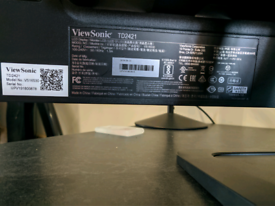 "Viewsonic 24"" monitor desktop pc or mac"