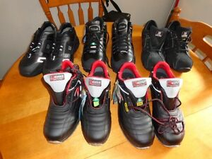 5 pairs of  brand new  never been worn,  safety shoes for sale