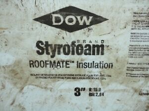 "*** Used 3"" Rigid Insulation  Polystyrene R15 ***"