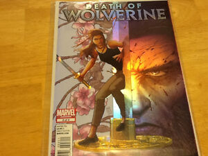 MARVEL COMICS - DEATH OF WOLVERINE - COMPLETE SET OF FOUR London Ontario image 3