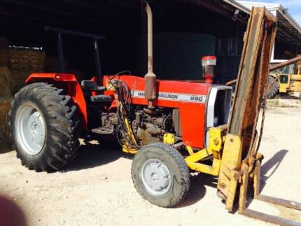 Massey Ferguson 290 Forklift The Coorong Area Preview