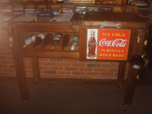 AWESOME COOLLER BAR ,for pop, beer, coolers, water..