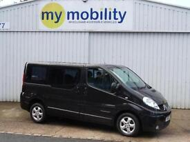 Renault Trafic Automatic WINCH 5 Seat Wheelchair Scooter Disabled Access MPV WAV