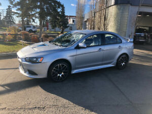 2014 MITSUBISHI LANCER RALLIART -  70500KM - Single Owner-AWD