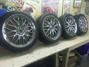 """18"""" tires and wheels"""