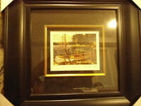 "Price Drop ___Tom Thomson "" The Canoe "" Numbered and Framed"