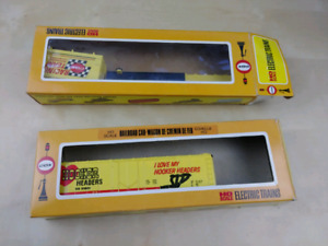 Cox Électrique wagons de train vintage HO scale Hooker de course