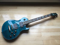 Charvel Desolation Trans Blue Smear Echange/trade